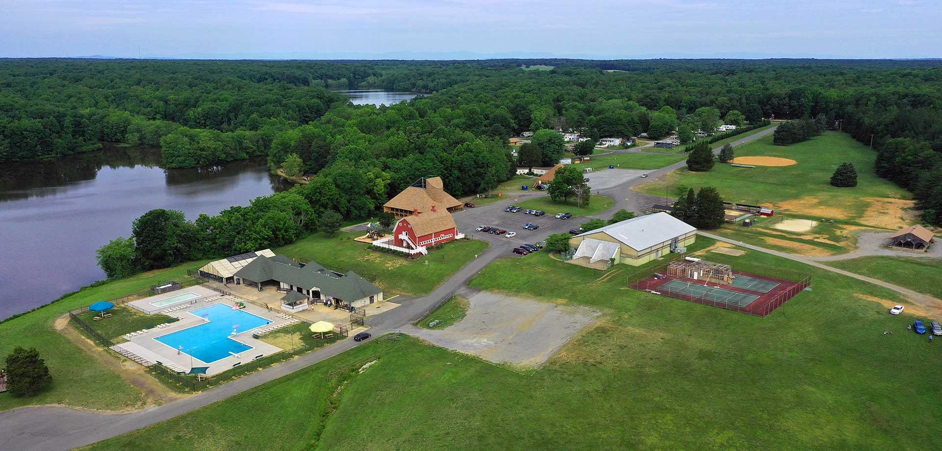 Wilderness Presidential Resort Aerial Photo