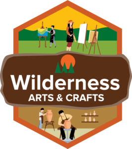 Arts and Crafts at Wilderness President Resort Logo