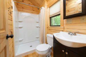 Dogwood Bathroom at Wilderness Presidential Resort