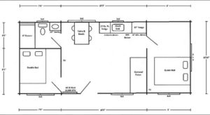 Dogwood Rancher Floor Plan at Wilderness Presidential Resort