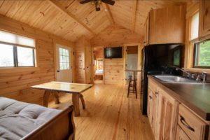 Dogwood Living Room at Wilderness Presidential Resort