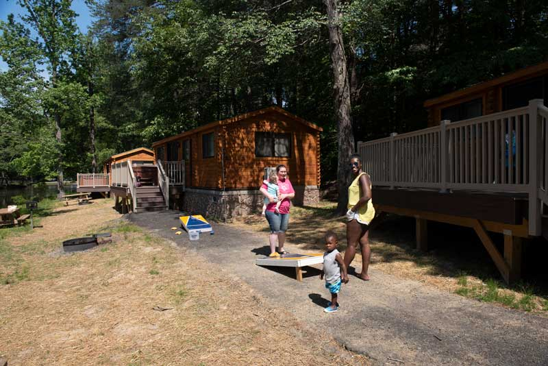 Family vacations at Wilderness Presidential Resort