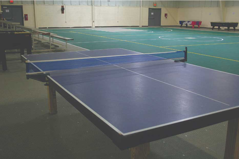 Table Tennis in the Gymnasium at Wilderness Presidential Resort