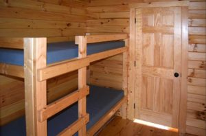 Holly Camp Cottage Bunk Bed at Wilderness Presidential Resort