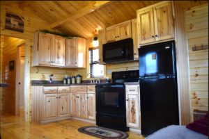 Holly Camp Cottage Kitchen at Wilderness Presidential Resort