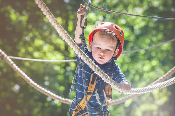 Ropes Course at the Adventure Park at Wilderness Presidential Resort
