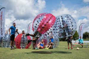 Knockerball Contest at Wilderness Presidential Resort