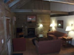 Log Cabin Lounge at Wilderness Presidential Resort