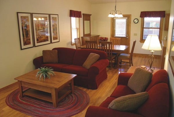 Log Cabin Lounge at Wilderness Presidential Resort