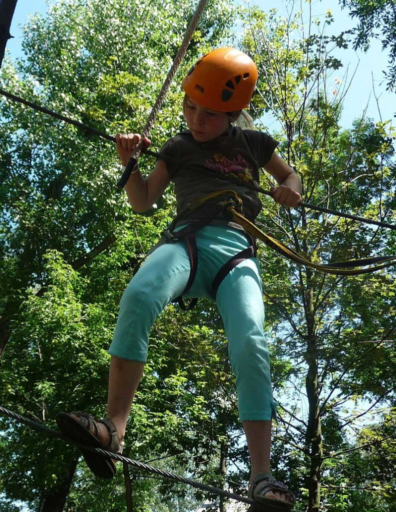 Ropes Course at Wilderness Presidential Resort