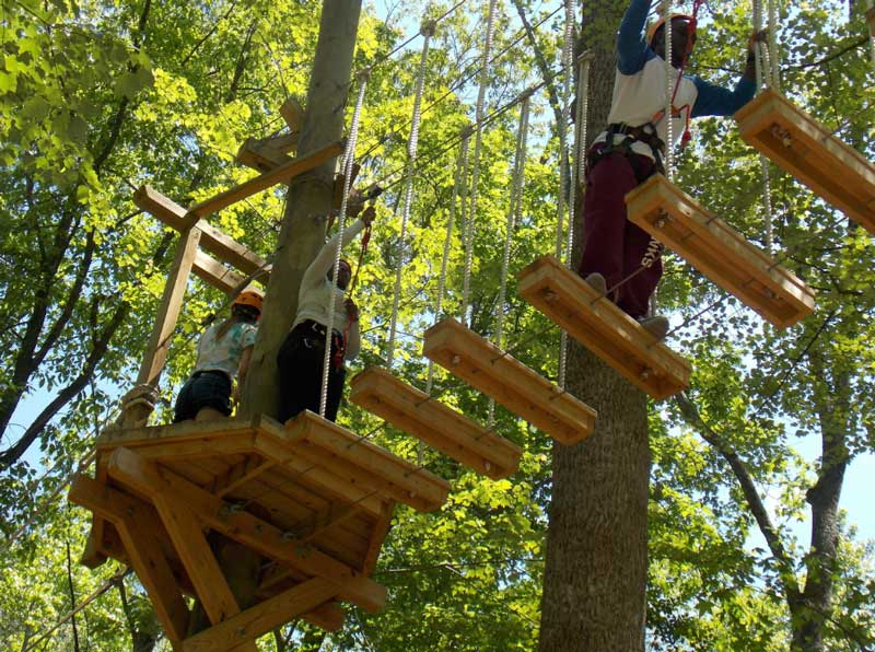 Ropes Adventure Course at Wilderness Presidential Resort