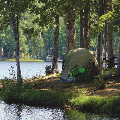 Wilderness Presidential Resort Tent Site Water Front