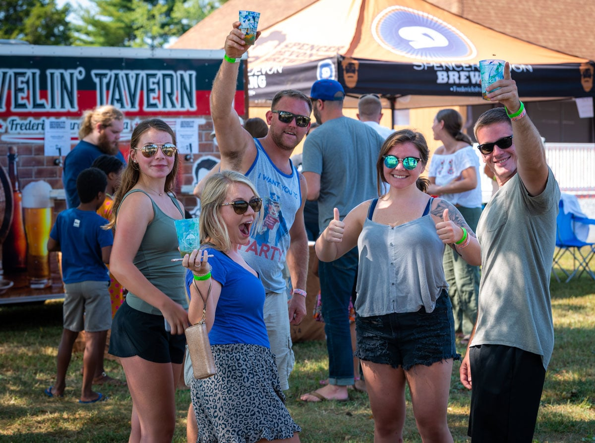Wild Roots Music Festival Spectators