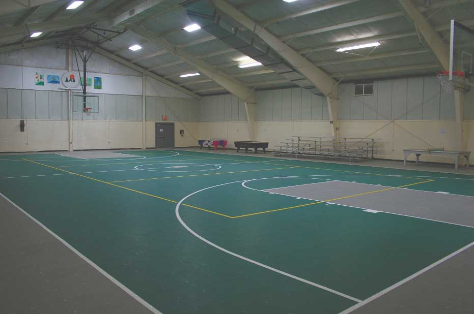 Basketball Court at Wilderness Presidential Resort