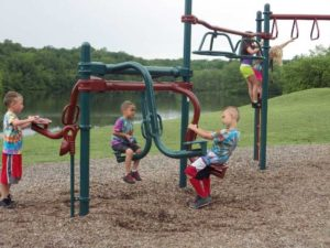 Play ground with kids at Wilderness Presidential Resort