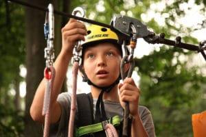 Wilderness Presidential Resort Adventure Park Ropes Course