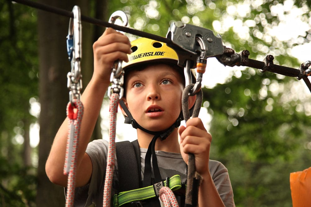 Wilderness Resort Adventure Park Ropes Course