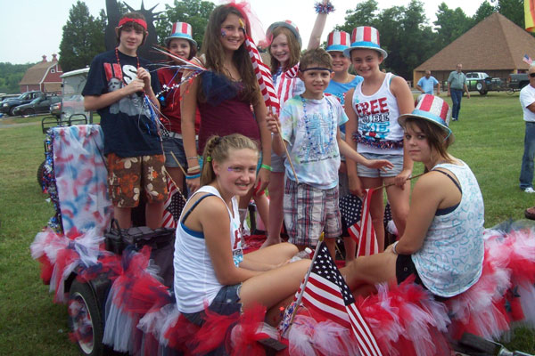 July 4th Parade at Wilderness Presidential Resort