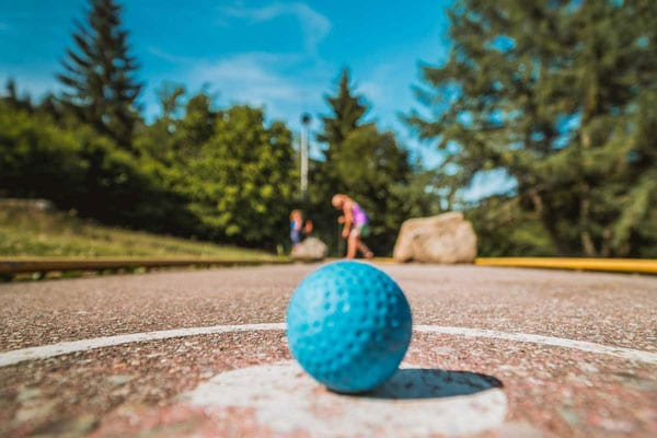 Mini Golf Events at Wilderness Presidential Resort