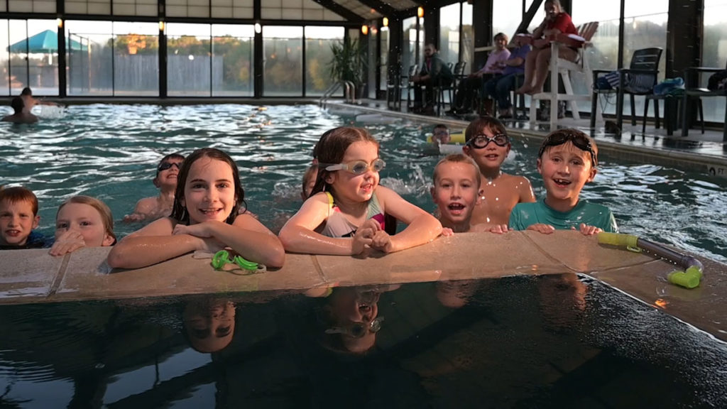 Kids Pool Party at Wilderness Presidential Resort