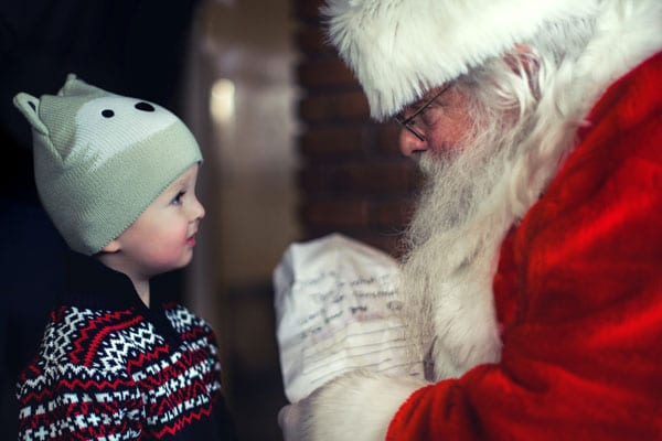 Breakfast with Santa at Wilderness Presidential Resort