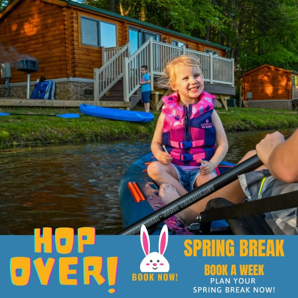 Spring Break Promotional Block