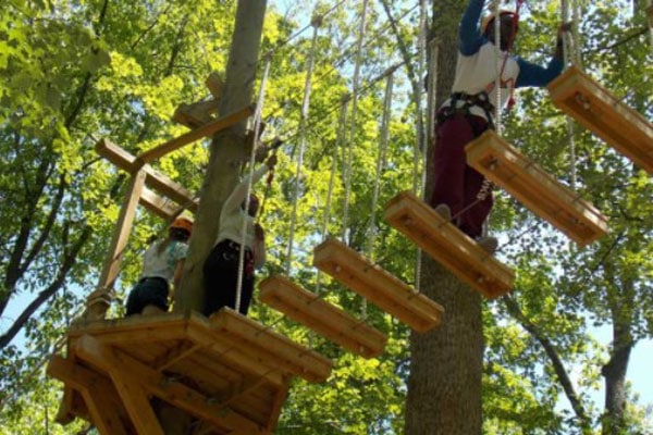 Adventure Course for Kids Parties