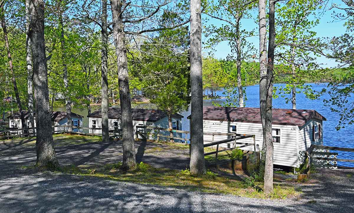 park model rv, camping cabin, camping rv, waterfront camping
