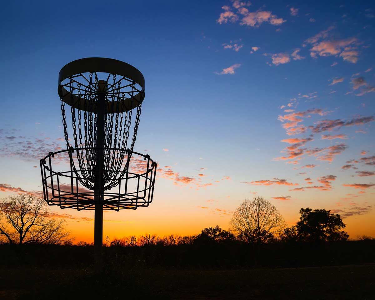 Disc Golf at Sundown