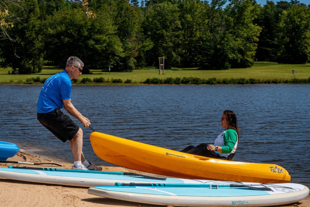 Kayak Beachside Rental