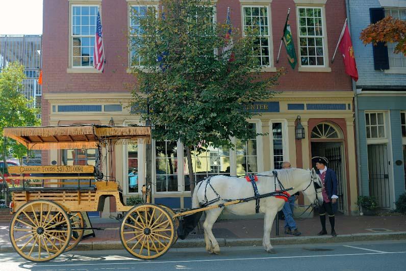 Old Town Fredericksburg VA