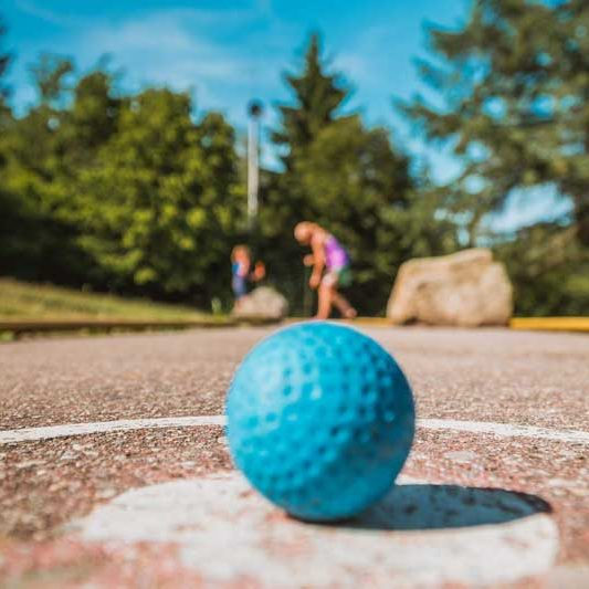 Mini Golf Golf Ball at Wilderness Presidential Resort